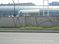 032 (en-ri) Tags: crew tag nero spray torino wall muro graffiti writing wld