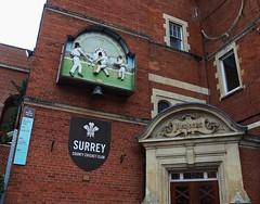 Members' Pavillion (Dun.can) Tags: kennington oval sw11 london cricketground cricket pavilion memberspavillion clock surrey