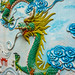 Arts in On Lang Pagoda in Saigon with Dragon