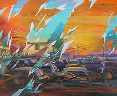 Open air (SERGEY AKRAMOV) Tags: сергейакрамов sergeyakramov streetart sprayart graffiti graffuturism postgraffiti art artwork acrylic aerosol abstract alvitrgallery paint painting fineart contemporary contemporaryart