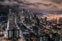 IMG_4318_Seattle (Alex Hsieh (椰子人)) Tags: ç´è² seattle skyline 2016 fall thanksgiving washingtonstate city canon night landscape canon6d 6d usa roadtrip wa