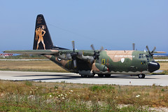 HAF C-130H Hercules at Rhodes (lha-spotter.de) Tags: diagoras rhodos rhodes c130h hercules haf hellenic air force greek lockheed 752 rho