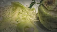 I like healthy food (Renate Bomm) Tags: gemüse kohlrabi renatebomm samyangaf35mmf28 sonyilce6000 stilllifephotography stilllife macro makro vegetables brightlight creativetabletopphotography