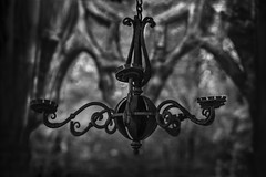 Forgotten chandelier (A.Dissing) Tags: white black art light dark contrast a7 a7ii a7m2 sony anders dissing masterpiece super detail fantastic good positive photo pixel mm creative beautiful color composition moment europe artistic other danish denmark danmark different exposure enjoy young unique weather scene awesome dope angle perfect perspective interesting flickr chaotic symmetric gothic place chandelier bw intense