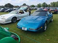 1993 Chevrolet Corvette Cabrio 5.7Litre V8 (mangopulp2008) Tags: 1993 chevrolet corvette cabrio 57litre v8 general motors gm enfield car pageant london 2016