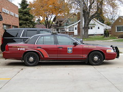Rossford Fire Department (Evan Manley) Tags: rossford ohio firedepartment firechief fordcrownvictoria policecar crownvictoria crownvic