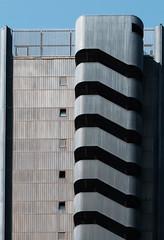 EUR Building Fragments (ep_jhu) Tags: x100f classicchrome building poste roma italia italiane fujifilm stairs stairwell eur design rome repetition fuji architecture italy it