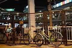 bicycle (ababhastopographer) Tags: osaka tennouji uemachi bicycle station terminal 大阪 天王寺 上町台地 自転車 駅前 ターミナル illumination lunapark