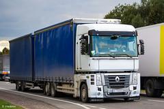 Renault Magnum 480DXi (UA) (almostkenny) Tags: lkw truck camion ciężarówka ua ukraine tandem drawbar ac ac3168bo renault magnum 480dxi