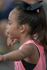 Young Dancer (Scott 97006) Tags: girl kid dancer parade cute bokeh makeup