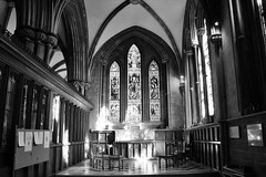Ghostly Images (WorcesterBarry) Tags: blackwhite bnw blackandwhite buildings cathedral england places photographers monochrome urban funny candid city church dawn adventure travel reflection