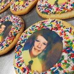Edible image cookies (Retro Bakery in Las Vegas) Tags: edible image cookies