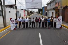 10 Octubre 2018. Entrega de la calle 17 Pte. Ote. (Gobierno de Cholula) Tags: inauguración 17 pte ote asfalto