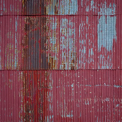 A history of violence (jtr27) Tags: dscf1259xl jtr27 fuji fujifilm xe2s xtrans nikon seriese 50mm f18 manualfocus red corrugated metal building square abstract maine
