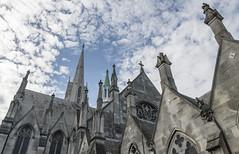 The clean spire (Ian@NZFlickr) Tags: first church otago dunedin nz spire clouds