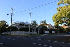 Queenslander houses, Shorncliffe (philip.mallis) Tags: brisbane shorncliffe queenslander house building architecture street