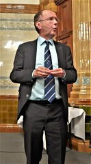 The vote of thanks to Mr Crumplin is enthusiastically passed! (photo by Roger Johnson)