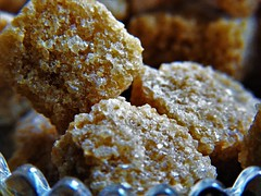 Macro Monday- Brown Sugar Cube (Vicky Roche) Tags: macro monday brown sugar cube