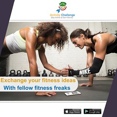 Download it today to have fun while you workout and earn money. (Activity Challenge) Tags: health fitness fit envywear fitnessmodel fitnessaddict fitspo workout bodybuilding cardio gym train training healthy instahealth healthychoices active strong motivation instagood determination lifestyle diet getfit cleaneating eatclean exercise