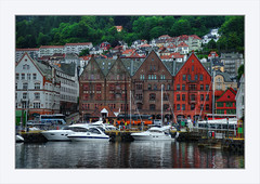 Bergen - Norway (Fr@nk ) Tags: water norway norge travel rec0309 recent europ12 mrtungsten62 frnk buildings architecture bergen city cityscape green trees nature beautiful sonya7r ilcea7r dslr frame dsc09395 topf25 topf50 topf100 topf150 topf200 topf250