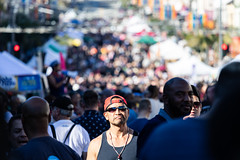 Castro Street Fair 2018 #8 (satoshikom) Tags: canoneos6dmarkii canonef70200mmf4lisusm thecastro castrostreetfair castrostreet sanfrancisco downtown weekend street
