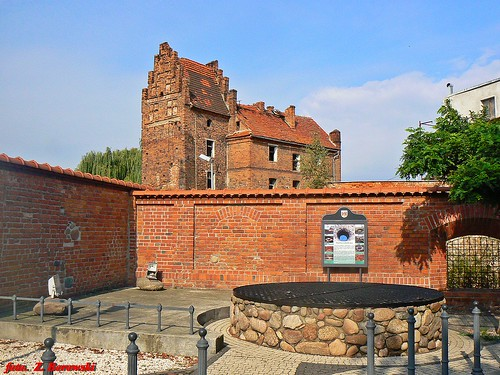 Góra - ruins of castle and old well