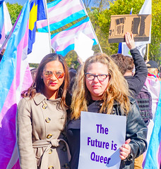 2018.10.22 We Won't Be Erased - Rally for Trans Rights, Washington, DC USA 06836