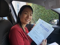 Massive congratulations  to Talhita passing her practical test on her first attempt with only 6 faults! www.leosdrivingschool.com