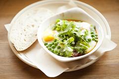 julio (lavendars) Tags: breakfast brunch cafe baked eggs food meal morning bread melbourne australia light window