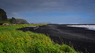 Black Sand Beach - Vik Iceland