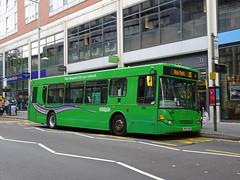 Nottingham City 203 Milton Street (Guy Arab UF) Tags: nottingham city transport 203 yn04amv scania n94ub east lancs omnitown bus milton street municipal buses