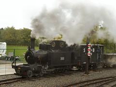 Hunslet 4-6-0T at Statfold (WelshHatter2000) Tags: statfoldbarnrailway hunslet 460t 303 1916 1215 worldwarone wardepartment steam locomotive gala narrowgauge