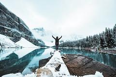 Moraine_Lake_09172018_034_045 (Julliard Kenneth) Tags: improvementdistrictno09 alberta canada ca morainelake calgray mountains lake landscape snow winter