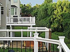 Back decks (DannyAbe) Tags: backyard decks baltimore railing