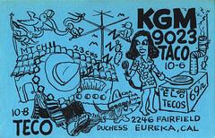 30019740 (myQSL) Tags: cb radio qsl card 1970s picasso
