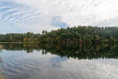 ashleyreservoir2018-163 (gtxjimmy) Tags: ashleyreservoir nikond7500 nikon d7500 newengland holyoke massachusetts autumn fall watersupply reflections reflection hdr