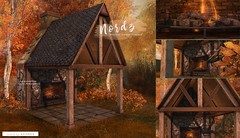 N21 - Nordz - Ariskea (ariskea) Tags: ariskea decor gardenb outdoor fireplace cozy secondlife