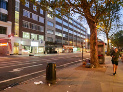Tottenham Court Road. 20181019T06-05-50Z (fitzrovialitter) Tags: bloomsburyward england fitzrovia gbr geo:lat=5152217000 geo:lon=013605000 geotagged unitedkingdom peterfoster fitzrovialitter city camden westminster streets urban street environment london streetphotography documentary authenticstreet reportage photojournalism editorial daybyday journal diary captureone olympusem1markii mzuiko 1240mmpro microfourthirds mft m43 μ43 μft ultragpslogger geosetter exiftool rubbish litter dumping flytipping trash garbage