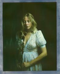 I. (denzzz) Tags: portrait polaroid roidweek polaroidweek largeformat 8x10 polaroidoriginals instantfilm analogphotography filmphotography intrepidcamera fujinonc 300mm walimex daylight1260
