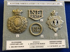 Glasgow Police Museum -  2018 (DanoAberdeen) Tags: policeforce elginpolice elgin badges candid amateur 2018 glasgow danoaberdeen handcuffed handcuffs convict jail guilty medal medals museum award police policeman zcars policemuseum glasgowscotland officer constable woman man authority force crime rescue emergency services bobbies cops 999 policescotland collection badge pin metal history historic scotland vintage olddays memories treasure