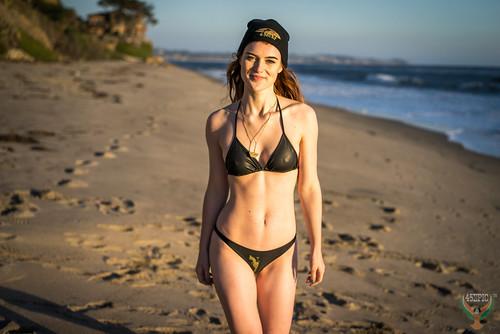 850946f202 Golden Ratio Composition Photography Redhead Ginger Venus! Pretty Swimsuit  Bikini Model Goddess! Sony A7