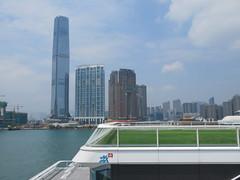 Space Invader HK_108 (tofz4u) Tags: hongkong china chine hk streetart artderue invader spaceinvader spaceinvaders mosaïque mosaic tile hk108 wave7 harbourcity building tout tower gratteciel skyscraper