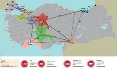 Euro 2024 (Blackwhite1903) Tags: europe football championship euro2024 candidate bid map turkey türkiye transport network