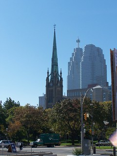 Cathedral Church of St. James ~ Toronto Ontario Canada ~  Ontario Heritage ~ Exterior