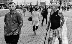 Amsterdam Tatoos (peterpj) Tags: amsterdam tatoos s9 android street person