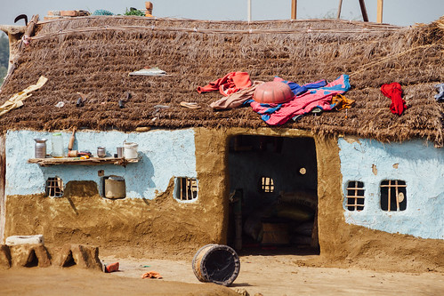 Blue Mud Home, Uttar Pradesh India