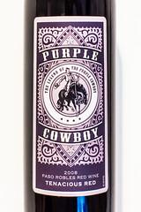 Have a Drink With Me (Thomas Hawk) Tags: california museum purplecowboy sfmoma sanfrancisco sanfranciscomuseumofmodernart cowboy wine fav10