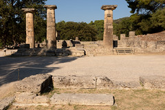 Ancient Olympia   Αρχαία Ολυμπία   Greece-47 (Paul Dykes) Tags: archeaolybia westgreeceregion greece gr hellas αρχαίαολυμπία ancientolympia olympicgames peloponnese ancientgreece archaeologicalsite
