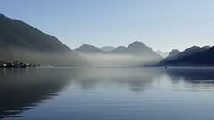 misty morning lake Lucerne Alpnachersee Switzerland (roli_b) Tags: mist misty morning day lake lucerne lakelucerne vierwaldstättersee see lago water alpnachstad alpnachersee switzerland schweiz suisse suiza svizzera sunrise 2018