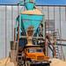 Loading sawdust